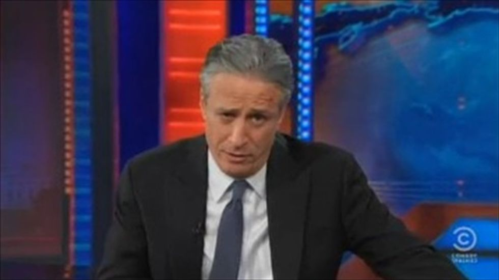 Jon Stewart knocks Megyn Kelly and the media's fake 'Knockout Game'