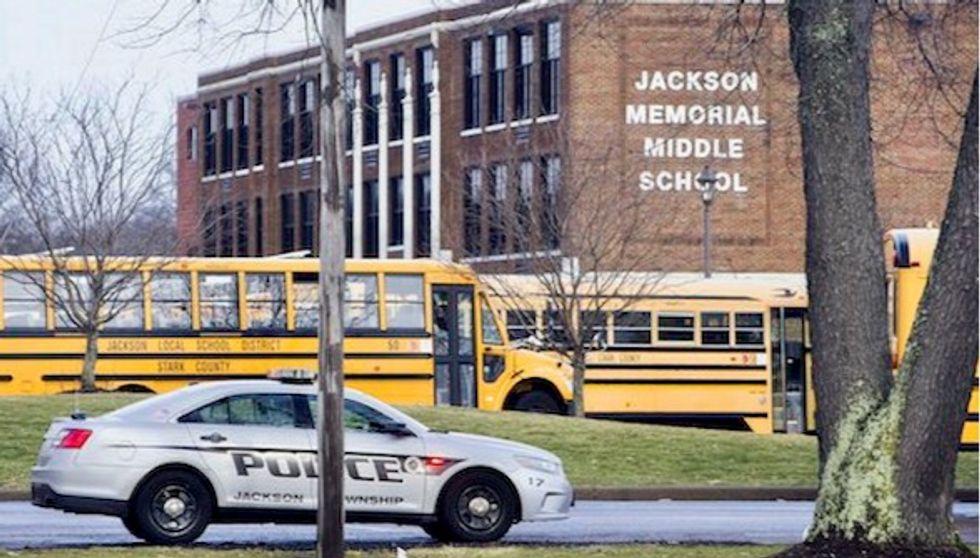 Ohio 7th grader who shot himself in his school's bathroom has died
