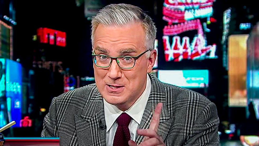 Keith Olbermann recalls when Bill O'Reilly gave him the stink eye but was too afraid to confront him