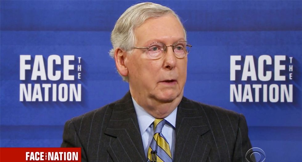 Twitter suspends Mitch McConnell's campaign after profanity-laced video