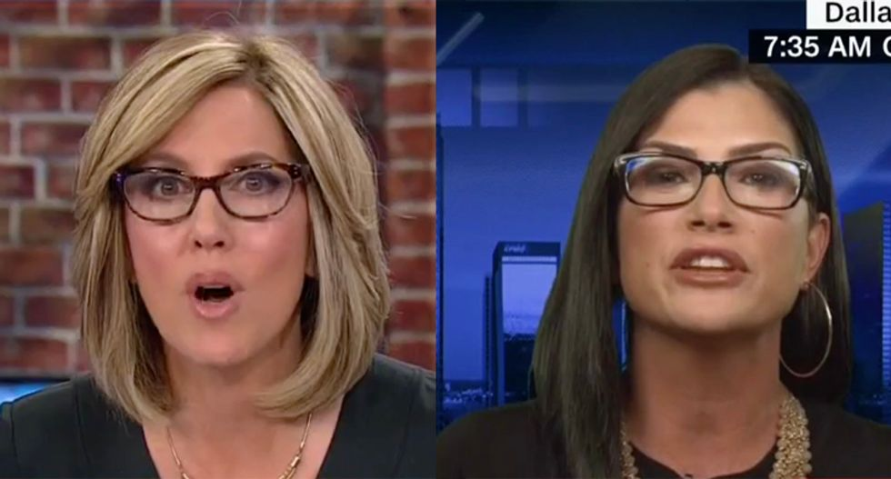 Watch CNN's Camerota read NRA's Loesch the riot act for accusing media of loving massacres in blistering interview