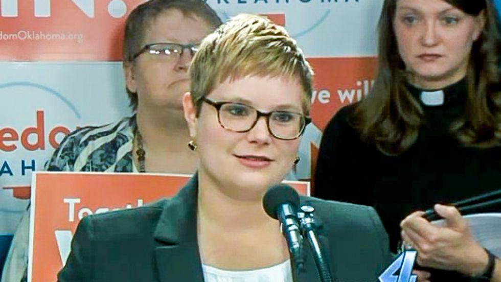 Oklahoma Dem amendment: Christian businesses must post notice of anti-gay discrimination