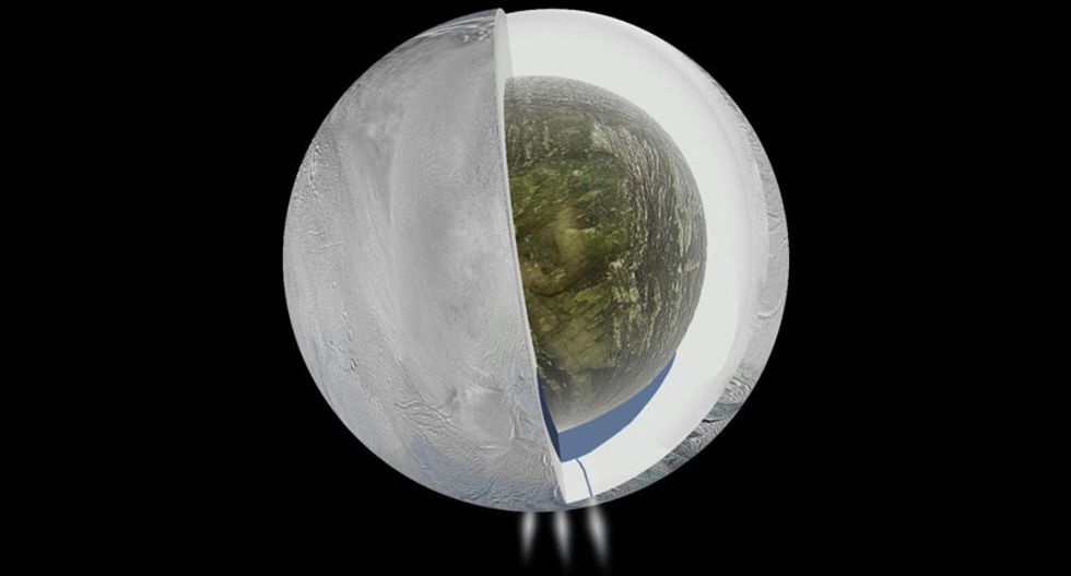 Evidence for hydrothermal vents boosts theories about life on Saturn's moon Enceladus