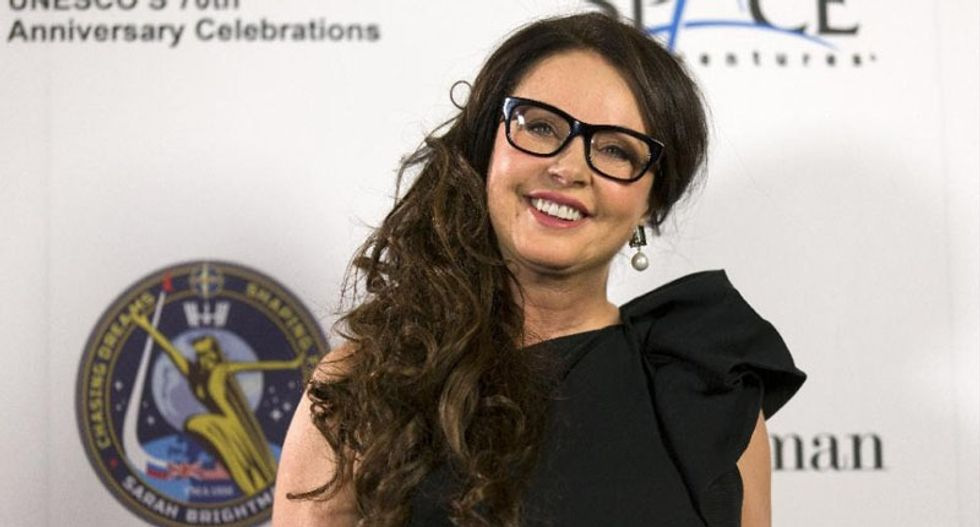 British singer Sarah Brightman plans first duet from the International Space Station