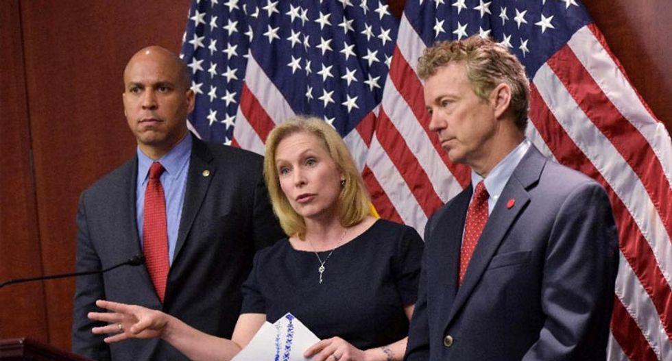 Senators Booker, Gillibrand and Paul unveil 'groundbreaking' federal marijuana bill