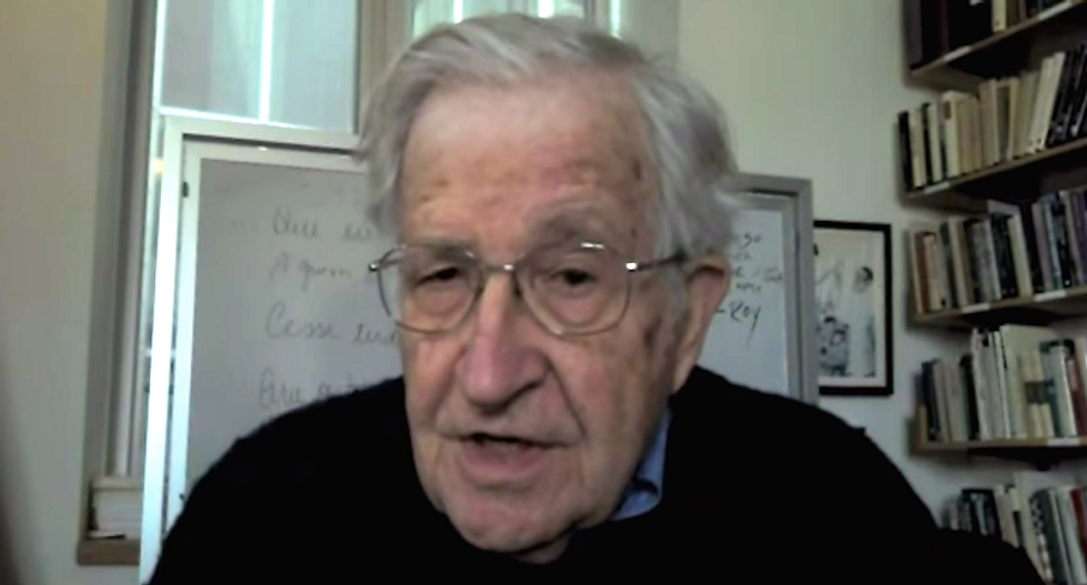 Noam Chomsky: Trump as president would be 'almost a death knell for the species'