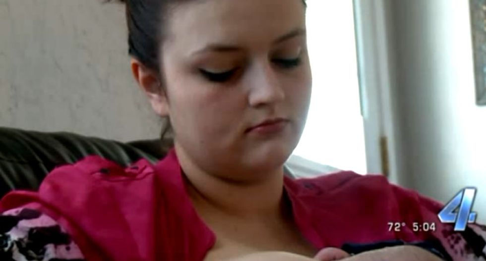 Mother outraged after Oklahoma YMCA kicks her out of women's locker for breastfeeding