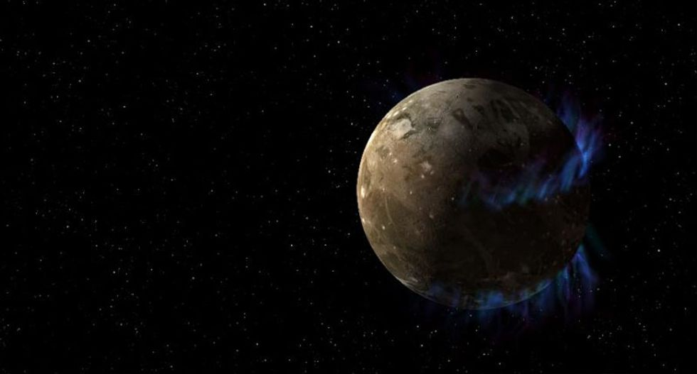Jupiter's largest moon definitely has an underground ocean -- and might contain life: NASA
