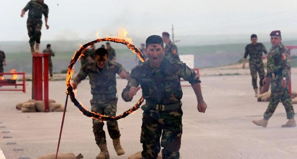 Iraq's first Christian-only brigade ready to battle the Islamic State