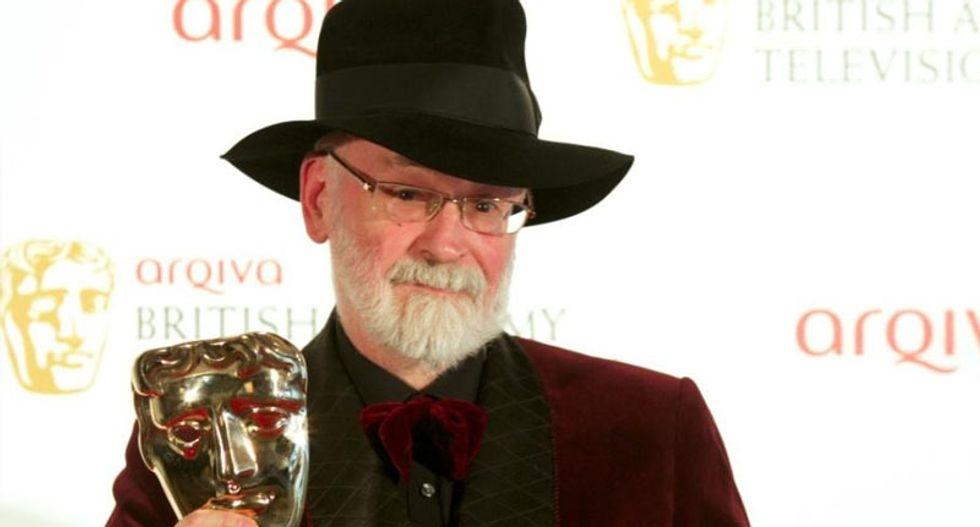 Beloved British author Terry Pratchett dies aged 66