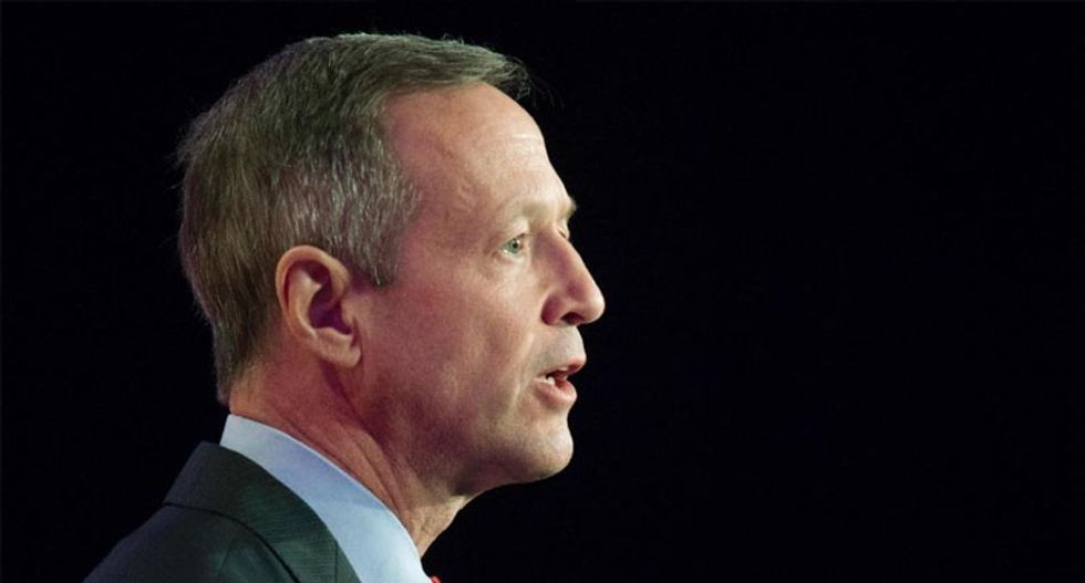 Democrat Martin O'Malley kicks off presidential campaign by trolling Wall Street and Sarah Palin