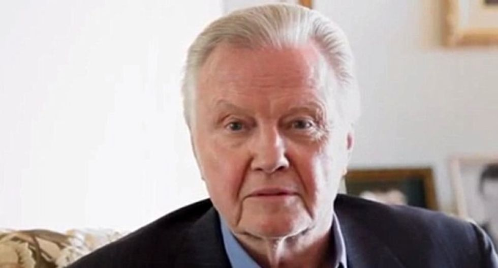 Jon Voight told Twitter why he thought Robert DeNiro's rant did more damage than Donald Trump's vulgarity