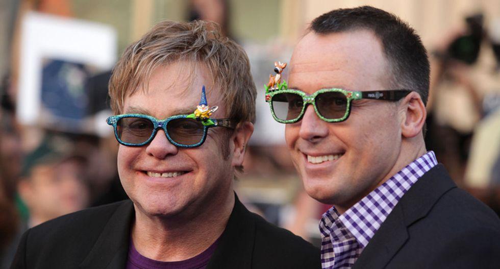 Elton John calls for a boycott of Dolce and Gabbana over slur against in vitro babies