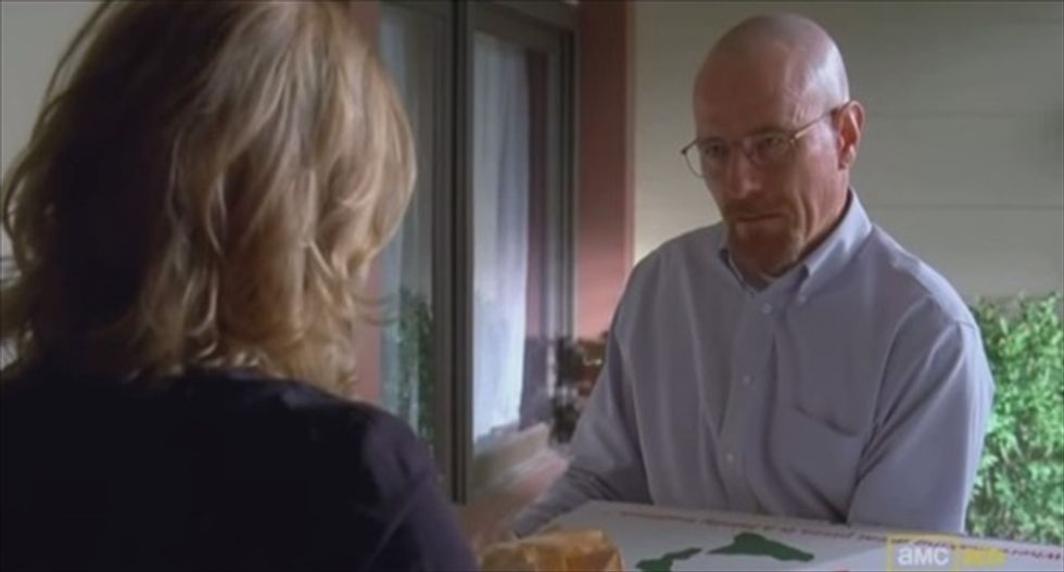 'Breaking Bad' creator tells pizza-launching fans: Stop harassing real-life homeowner