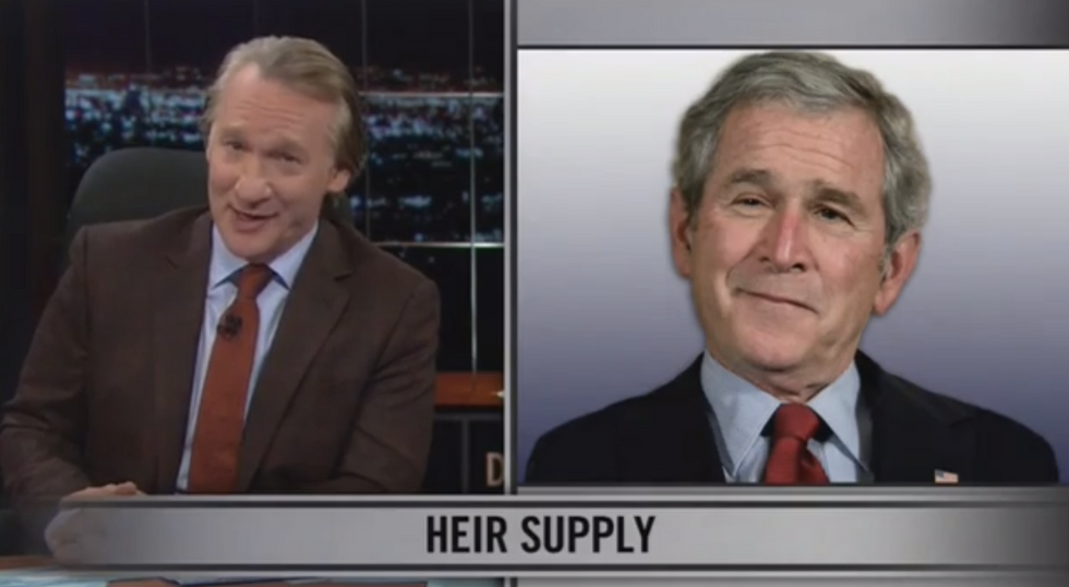 Bill Maher: GOP totally supports 'free money' and government handouts -- for the rich
