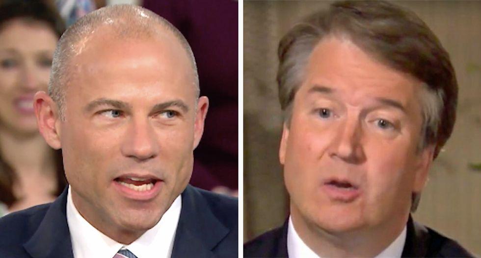 'How stupid does he think the American people are?': Michael Avenatti slams Brett Kavanaugh's latest denial