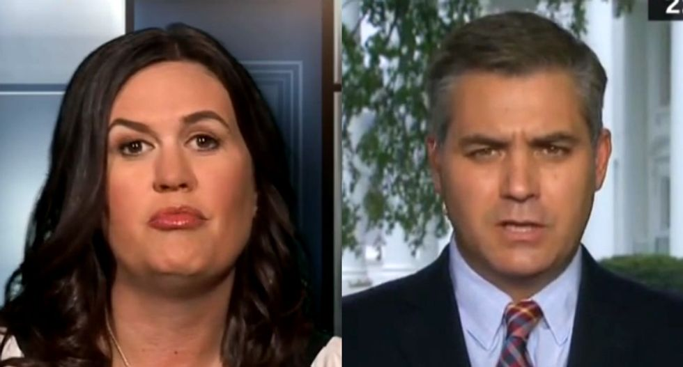 CNN's Acosta blasts Sanders and other Trump officials: 'They can't keep gaslighting the American people'