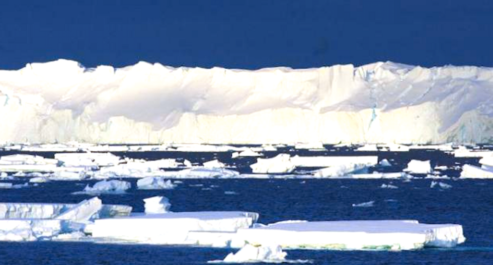 Melting glaciers, as well as ice sheets, raising Earth's seas