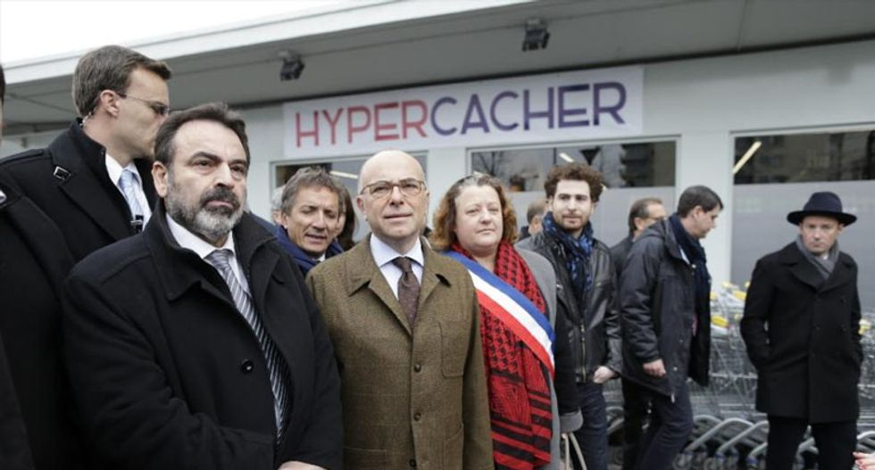 Jewish supermarket reopens in Paris after being attacked by jihadist