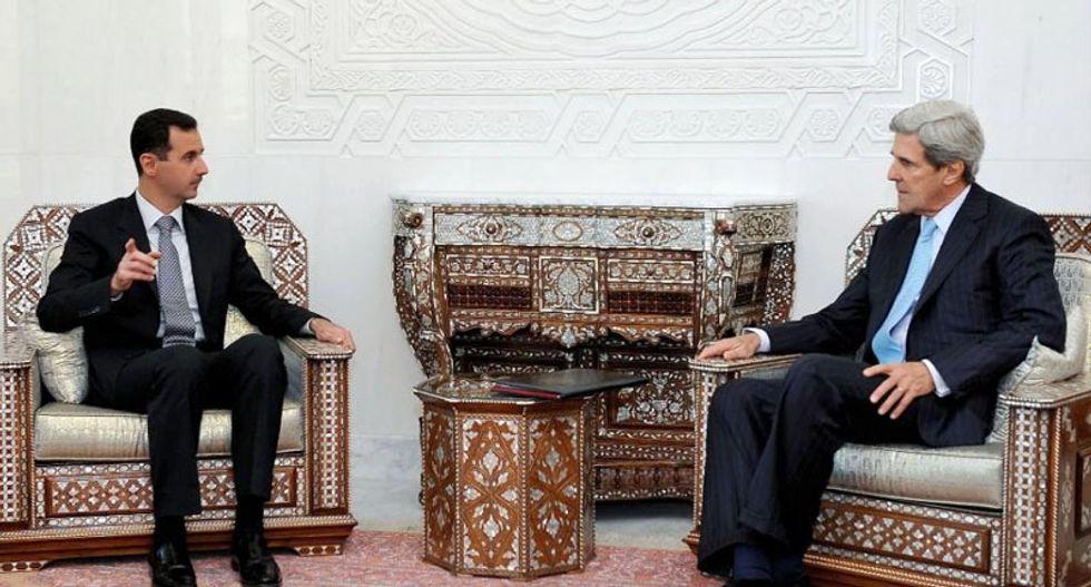 US seeking to get Bashar al-Assad to negotiate end to Syria war