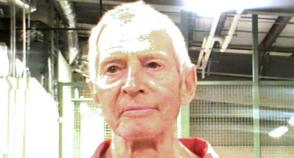 Wealthy heir Robert Durst appears in Los Angeles court on murder charge