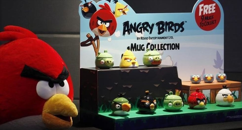 Clipped wings: 'Angry Birds' game makers say profits fell by 73 percent last year