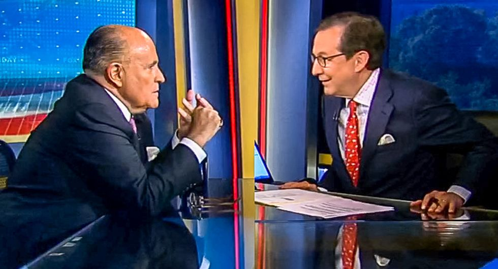 Chris Wallace gives Giuliani hammering for the ages over Mueller report: 'Who made you God?'