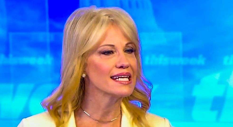 Kellyanne Conway insists 'the president is not going to jail' -- at least not while he's in the White House