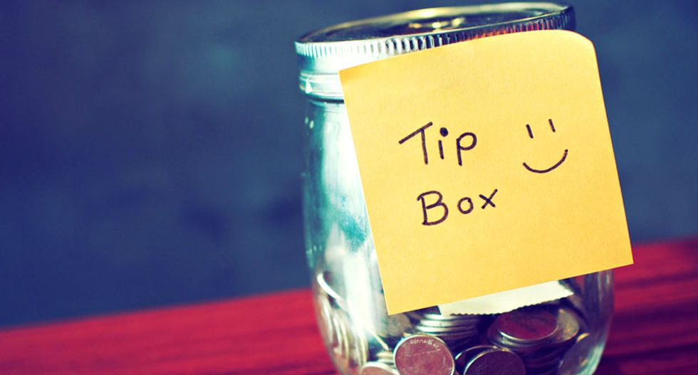 Are you a stingy tipper? You may have unresolved trust issues