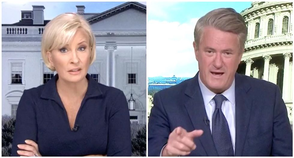 'They just lie': Morning Joe and Mika call for TV ban of Sarah Sanders, Rudy Giuliani and Kellyanne Conway