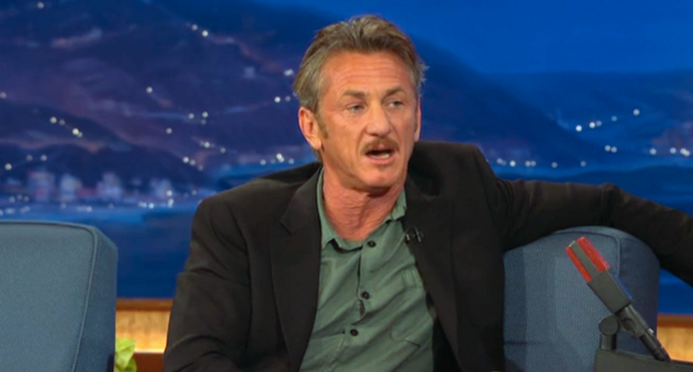 Sean Penn 'thanks' Dick Cheney -- an 'embittered bacteria of humanity' -- for creating ISIS