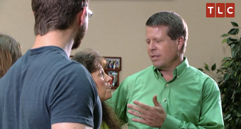 Watching the Duggars teach their daughter to kiss will make you want to climb out of your own skin