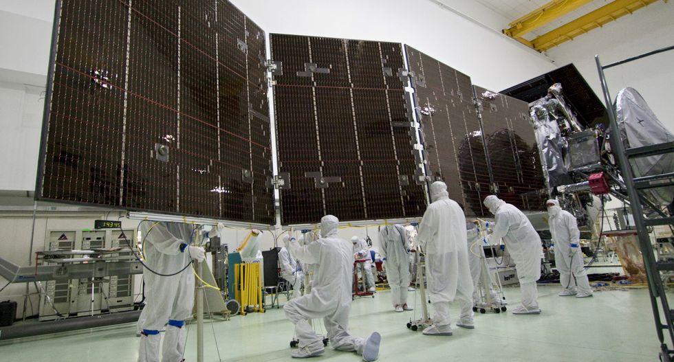 NASA is testing solar panels that unfurl like Fruit Roll-Ups in space