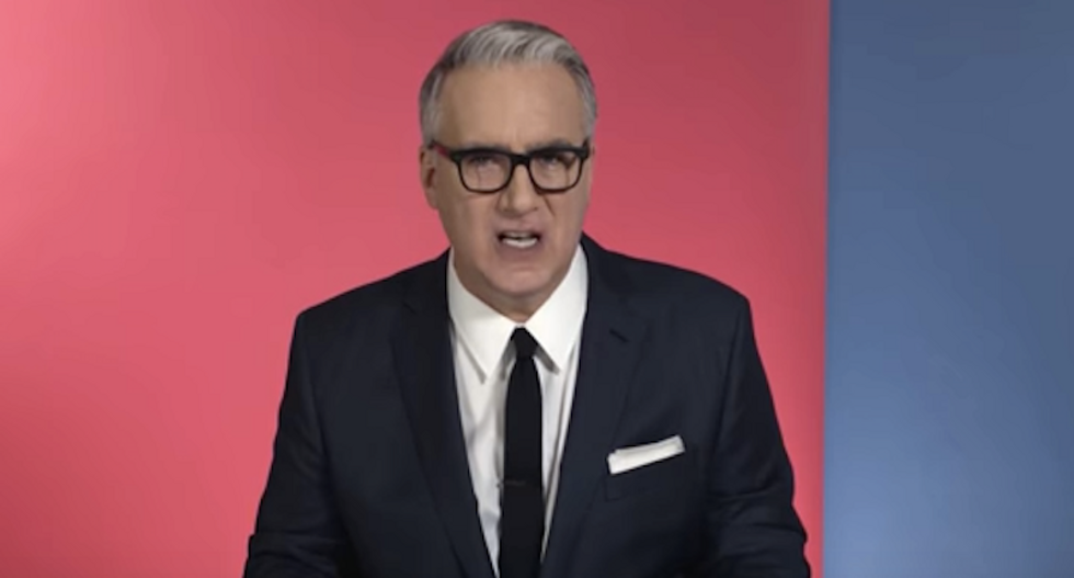 Keith Olbermann: Trump voters 'have guaranteed themselves slavery, defeat and economic disaster'