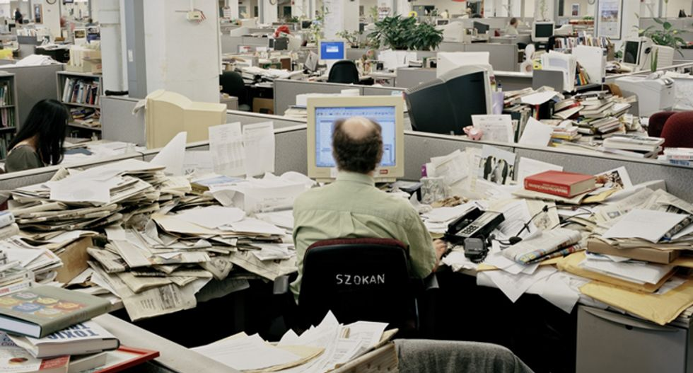 The slow decline and death of the American newspaper