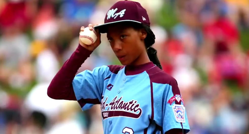 Baseball player booted from team for calling 14-year-old Little League heroine a 'slut' on Twitter