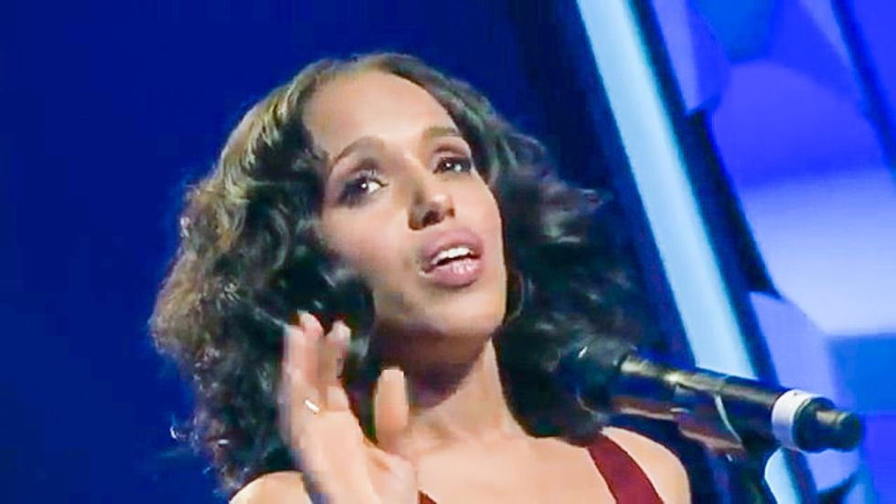 WATCH: 'Scandal' star Kerry Washington electrifies awards show with LGBT equality speech