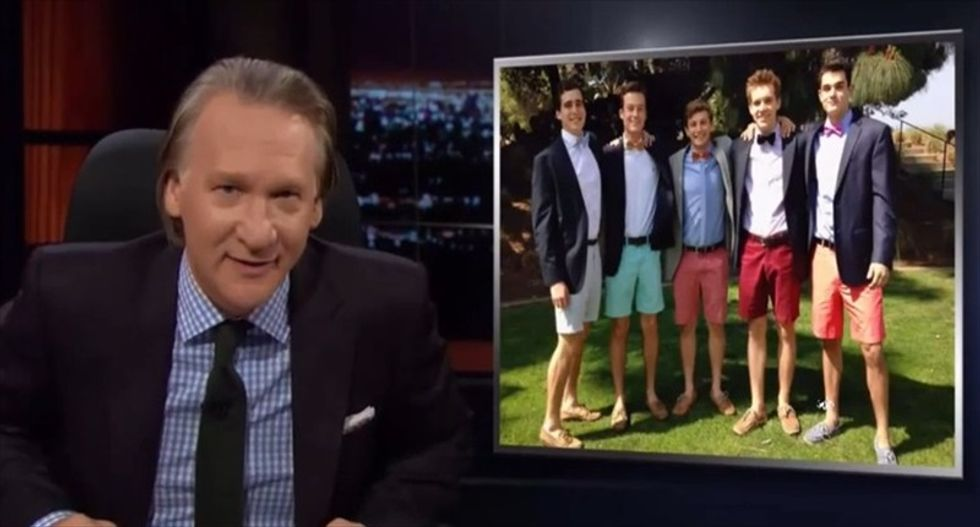 Bill Maher says fraternity culture is like Islamic State: 'A cult is a cult'