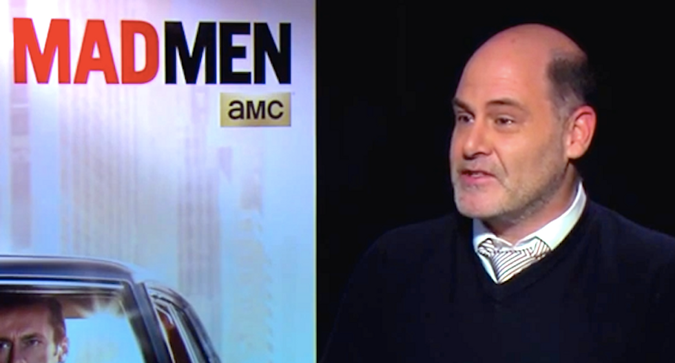 'Mad Men' creator Matthew Weiner says Polo-wearing male WASPs still hold the keys to power