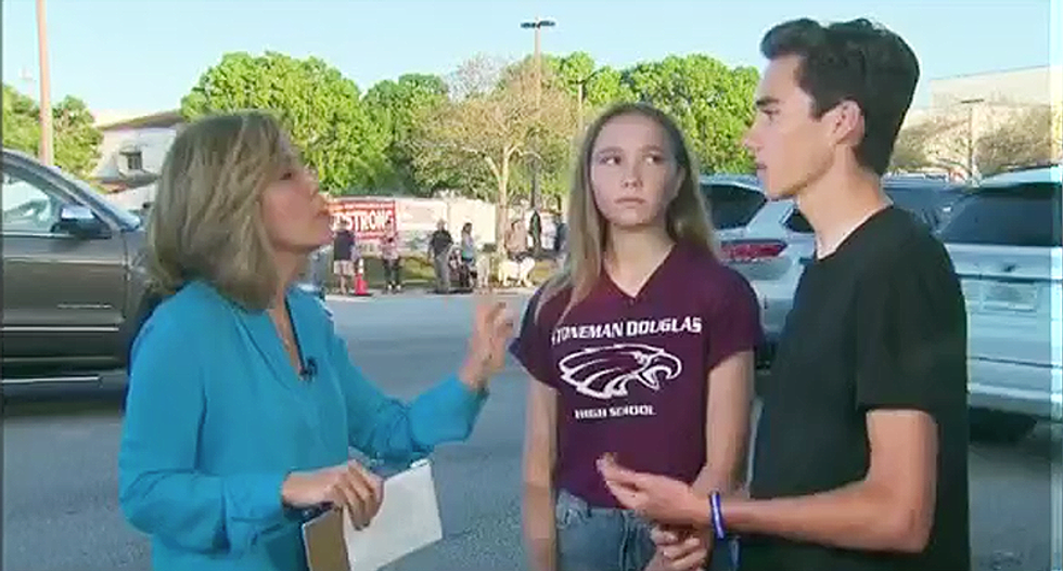 'Stand up to the NRA and rip off your shock collar': Parkland teen David Hogg calls out Trump as a 'coward'