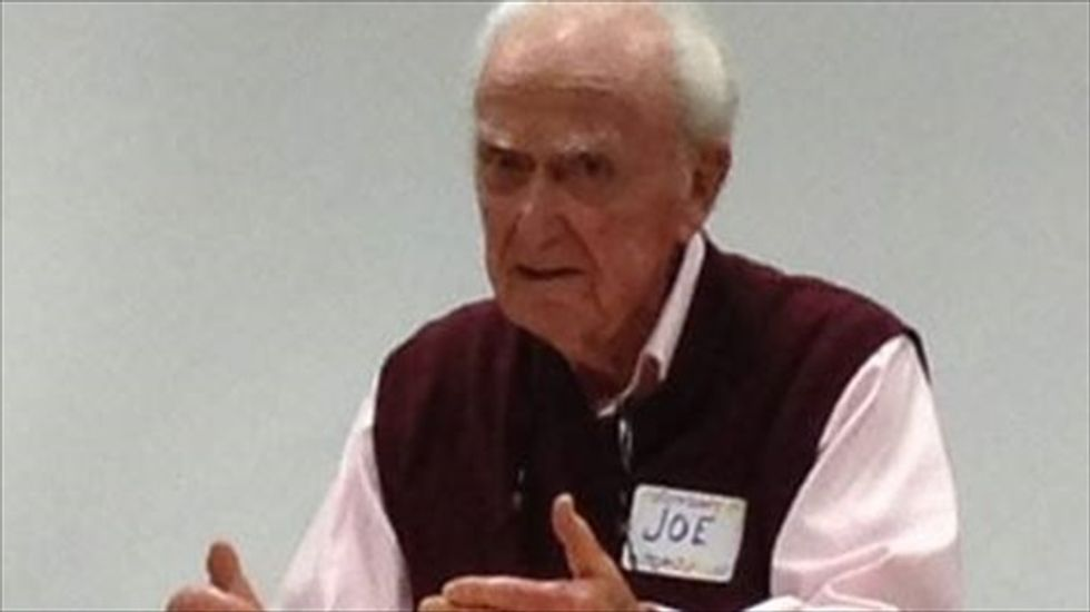 101-year-old 'anthropological progressive' embarks on congressional campaign