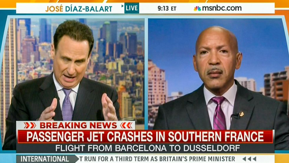 Let the speculation begin: MSNBC spends 5 minutes blaming hackers for plane crash in French Alps