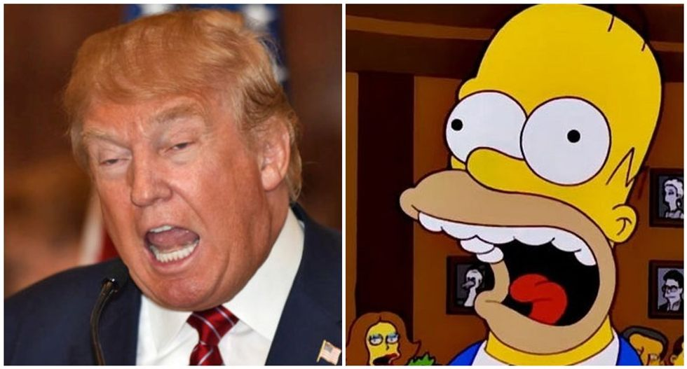 Trump 'talks like Stalin but governs like Homer Simpson': WaPo columnist