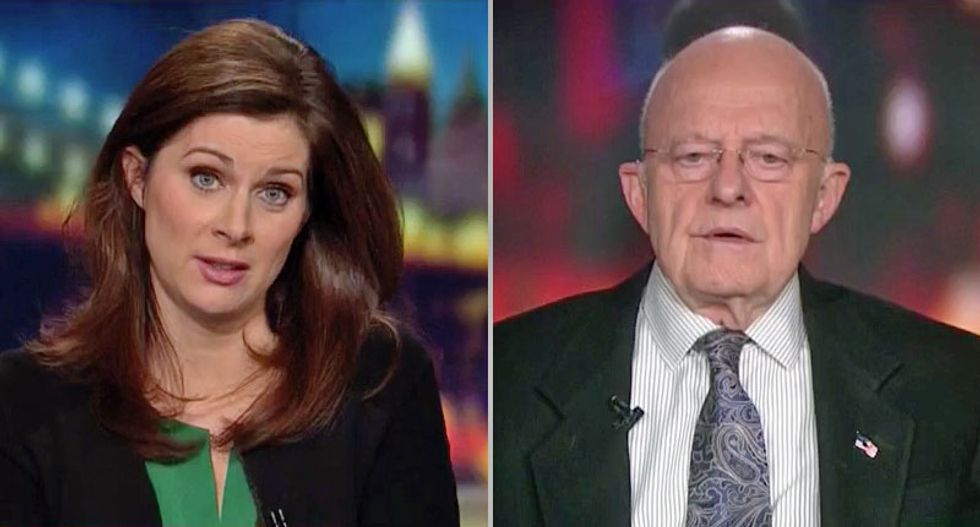 'Ginger Rogers award for tap dancing': Ex-DNI Clapper rips Huckabee Sanders' 'artful dodge' on Kushner's security clearance