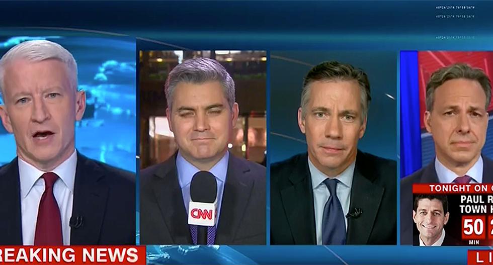 WATCH: CNN spent ten straight minutes tearing down Trump's lies