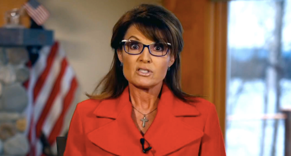 Sarah Palin's husband Todd files for divorce because he 'finds it impossible to live together'