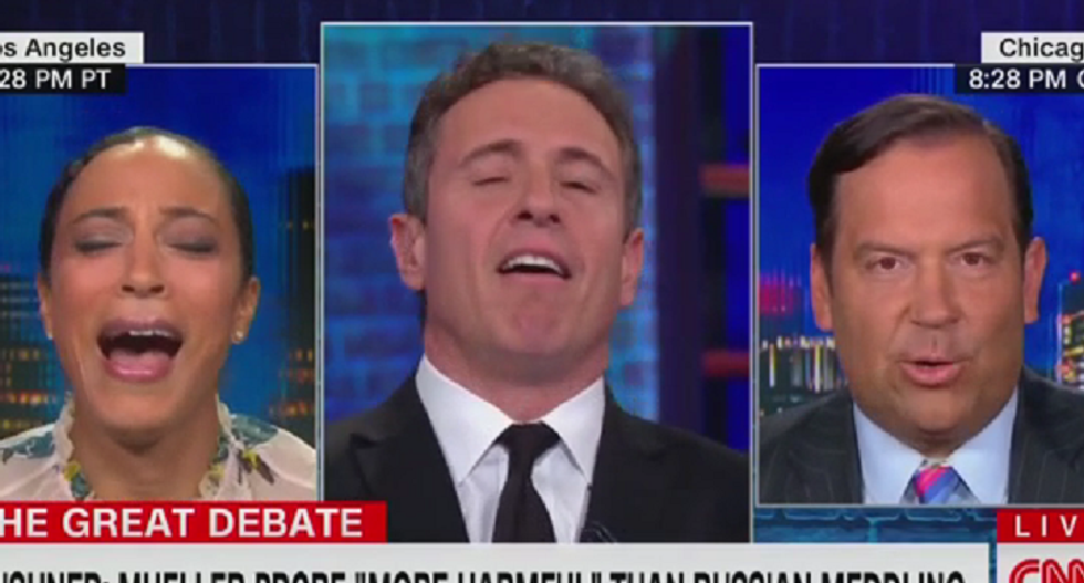 CNN explodes with laughter as Trump adviser defends Jared Kushner's Russia comments