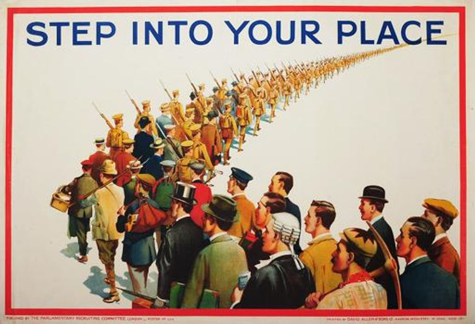 Your country needs you: propaganda a potent weapon in 'total war'