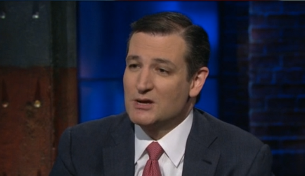 Ted Cruz wasn't forced to sign up for Obamacare -- no matter what he says