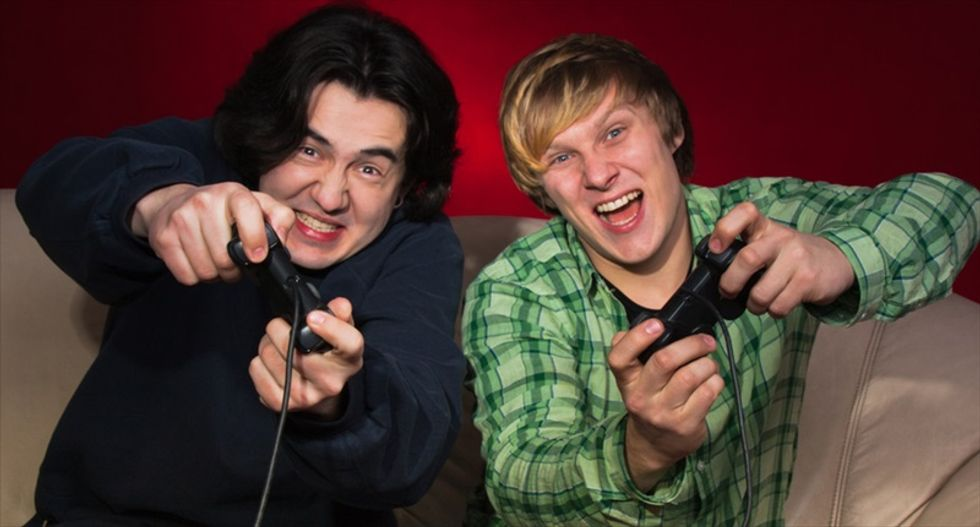 Video gamers are sexy, or at least they think they are